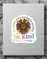 In a world where you can be anything be kind Sticker - 4 pack (Vertical) aos-sticker-4-pack-vertical-lifestyle-front-09
