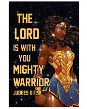 The Lord is with you 11x17 Poster front
