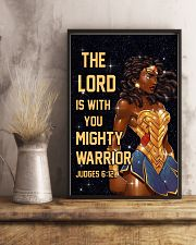 The Lord is with you 11x17 Poster lifestyle-poster-3