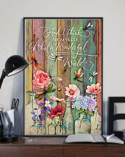 What a wonderful world 11x17 Poster lifestyle-poster-2