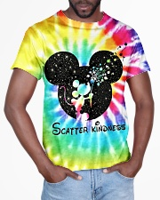 Scatter kindness All-over T-Shirt aos-all-over-T-shirt-lifestyle-front-03