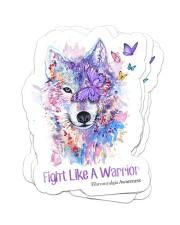 Fibromyalgia sticker Sticker - 4 pack (Vertical) front