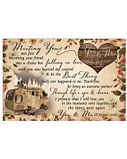 You and me til' forever ends 17x11 Poster front