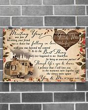You and me til' forever ends 17x11 Poster poster-landscape-17x11-lifestyle-18
