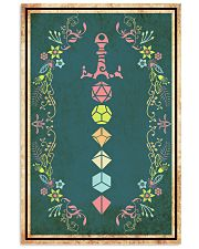 Polyhedral Dice Set Sword 11x17 Poster front