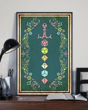 Polyhedral Dice Set Sword 11x17 Poster lifestyle-poster-2