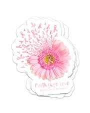 Faith hope love Sticker - 4 pack (Vertical) front