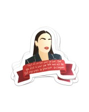They'll tell you're too loud Sticker - 4 pack (Vertical) front