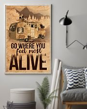 Go where you feel most alive 11x17 Poster lifestyle-poster-1