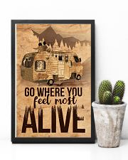 Go where you feel most alive 11x17 Poster lifestyle-poster-8