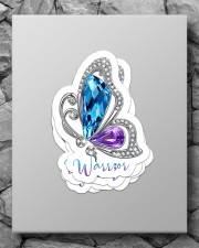 Sparkle butterfly Sticker - 4 pack (Vertical) aos-sticker-4-pack-vertical-lifestyle-front-09