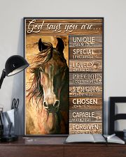 God says you are 11x17 Poster lifestyle-poster-2