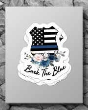 Black the blue Sticker Sticker - 4 pack (Vertical) aos-sticker-4-pack-vertical-lifestyle-front-09