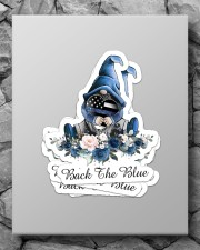 Back the blue Sticker - 4 pack (Vertical) aos-sticker-4-pack-vertical-lifestyle-front-09