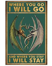 Where you go I will go 11x17 Poster front
