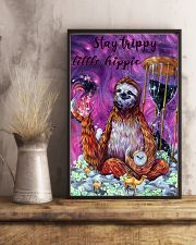 Stay trippy little hippie 11x17 Poster lifestyle-poster-3