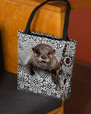 Cute otter All-over Tote aos-all-over-tote-lifestyle-front-02