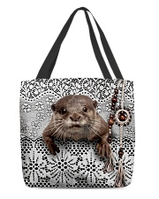 Cute otter All-over Tote back