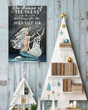 She dreams of the ocean 11x17 Poster lifestyle-holiday-poster-2