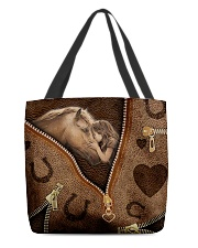 Horse girl All-over Tote front