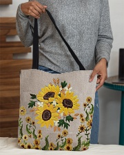 Love sunflowers All-over Tote aos-all-over-tote-lifestyle-front-10