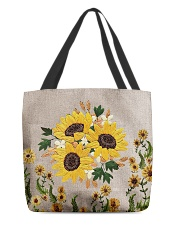 Love sunflowers All-over Tote front