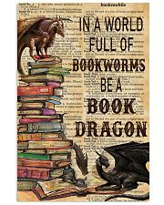 In a world full of bookworms 11x17 Poster front