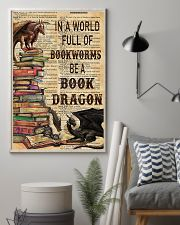 In a world full of bookworms 11x17 Poster lifestyle-poster-1