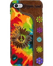 Hippie Soul Leather Pattern Print  Phone Case i-phone-7-case