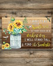 I want to be like a sunflower 17x11 Poster poster-landscape-17x11-lifestyle-14
