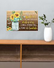 I want to be like a sunflower 17x11 Poster poster-landscape-17x11-lifestyle-24
