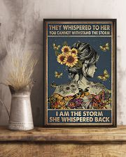 They whispered to her 11x17 Poster lifestyle-poster-3