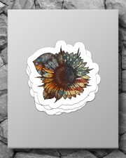 Sunflower sticker Sticker - 4 pack (Vertical) aos-sticker-4-pack-vertical-lifestyle-front-09