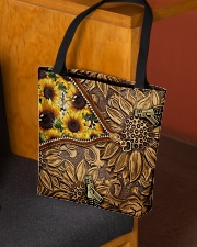 Love sunflower inside out All-over Tote aos-all-over-tote-lifestyle-front-02