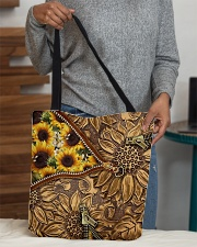 Love sunflower inside out All-over Tote aos-all-over-tote-lifestyle-front-10
