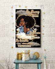 Be strong when you are weak 11x17 Poster lifestyle-holiday-poster-3