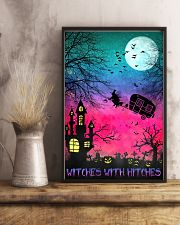 Witches with hitches Halloween 11x17 Poster lifestyle-poster-3