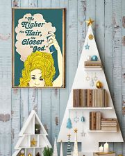 The higher the hair 11x17 Poster lifestyle-holiday-poster-2