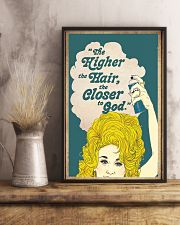 The higher the hair 11x17 Poster lifestyle-poster-3