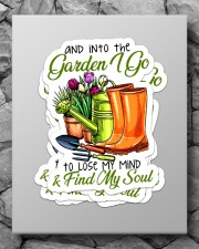 And into the garden I go Sticker - 4 pack (Vertical) aos-sticker-4-pack-vertical-lifestyle-front-09