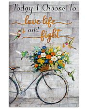 Today I choose to love 11x17 Poster front