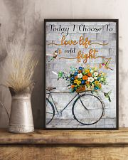 Today I choose to love 11x17 Poster lifestyle-poster-3