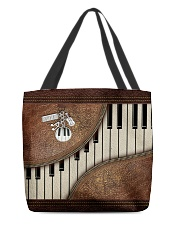 Pianist Tote Leather Pattern Print All-over Tote back