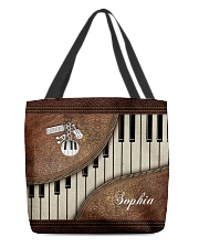 Pianist Tote Leather Pattern Print All-over Tote front