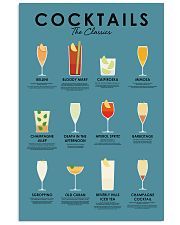 The classic cocktails 11x17 Poster front