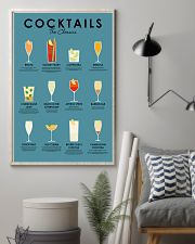 The classic cocktails 11x17 Poster lifestyle-poster-1