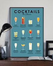 The classic cocktails 11x17 Poster lifestyle-poster-2