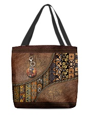 African pattern All-over Tote back