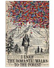 I enjoy the romantic walks 11x17 Poster front