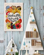 Gardening is a work of heart 11x17 Poster lifestyle-holiday-poster-2